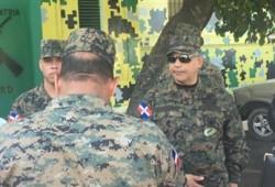 Ministro de Defensa se traslada hasta el lugar de los hechos donde fue ultimado el Capitán del Ejército de República Dominicana por los Nacionales Haitianos