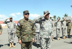 """Ministro de Defensa realiza visita a la Base Naval """"Las Calderas"""" de la Armada de República Dominicana"""