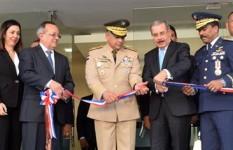 Ministro de Defensa asiste a la inauguración de obras...