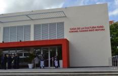 Fuerza Aérea inaugura Casa de la cultura Coronel FARD Cándido...