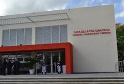 Fuerza Aérea inaugura Casa de la cultura Coronel FARD Cándido Bidó Ventura