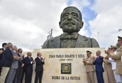 MIDE develiza bustos Padres de la Patria y Escudo Nacional en Plaza de la Bandera