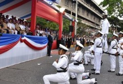 MIDE Realiza Desfile Cívico- Militar dedicado a Héroes 30 de Marzo y al Presidente Medina