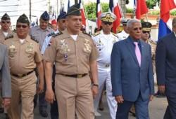 Ministerio de Defensa participa en los actos conmemorativos por el 204 aniversario del Natalicio del Padre de la Patria, 'General Juan Pablo Duarte y Díez'